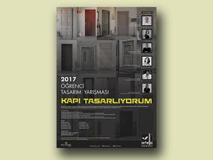 """""""Kapı Tasarlıyorum"""" 2017 Öğrenci Tasarım Yarışması"""