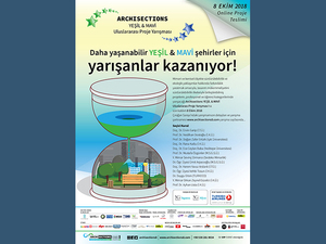 Archisections Yeşil & Mavi Uluslararası Proje Yarışması