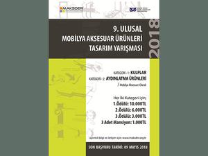 9. Ulusal Mobilya Aksesuar Ürünleri Tasarım Yarışması
