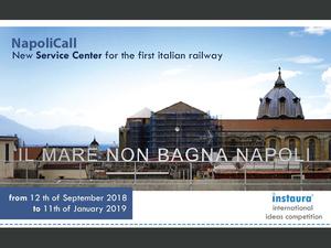 İtalya'nın İlk Demiryolu İçin Hizmet Merkezi Proje Yarışması