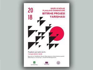 Şehir ve Bölge Planlama Bölümü Öğrencileri Bitirme Projesi Yarışması 2018