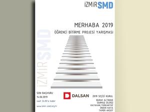 İzmirSMD - Merhaba 2019 Öğrenci Bitirme Projesi Yarışması