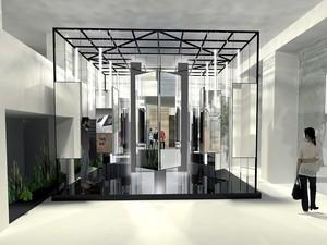 Design Finalist, FLORIM Milano Showroom Exhibit it Contest: Illusion Vision