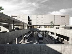 Katılımcı (Tamirci Architects), Evka 3 Sosyal Merkez ve Aktarma İstasyonu Yarışması