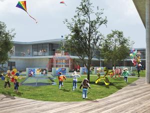 1. Ödül, Bornova Belediyesi Çocuk Dünyası Mimari Proje Yarışması