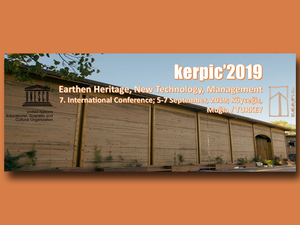 "7th International Conference: ""Earthen Heritage, New Technology, Management"""