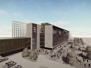 Katılımcı (Studyo Tasarım Mimarlık Hizmetleri), Efeler Belediyesi Hizmet Binası Mimari Proje Yarışması