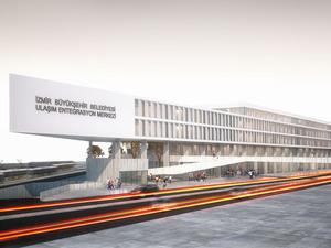 Eşdeğer Mansiyon (75368), İzmir Büyükşehir Belediyesi Ulaşım Entegrasyon Merkezi Yarışması