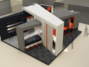 1. Ödül, 40. İstanbul Yapı Fuarı Stand Tasarım Yarışması