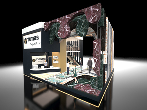 3. Ödül, 40. İstanbul Yapı Fuarı Stand Tasarım Yarışması