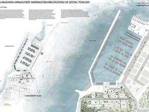 Uludağ Üniversitesi Mimarlık Fakültesi Mudanya Arnavutköy Marinası ve Sosyal Tesisleri Projesi