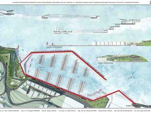 Uludağ Üniversitesi Mimarlık Fakültesi Mudanya Arnavutköy Marinası Rehabilitasyonu ve Sosyal Tesisleri Projesi