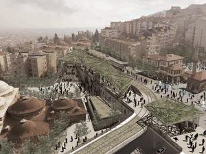 1. Mansiyon, Çekirge Meydanı Mimari, Kentsel Tasarım ve Peyzaj Tasarımı Yarışması