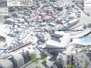 Katılımcı, Çekirge Meydanı Mimari, Kentsel Tasarım ve Peyzaj Tasarımı Yarışması