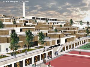 1. Mansiyon, Güneydoğu Anadolu Bölgesi (Mardin), 7 İklim 7 Bölge - Mahalle Ulusal Mimari ve Kentsel Tasarım Fikir Yarışması