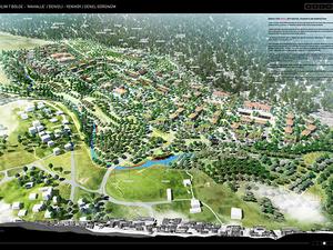 1. Mansiyon, Ege Bölgesi (Denizli), 7 İklim 7 Bölge - Mahalle Ulusal Mimari ve Kentsel Tasarım Fikir Yarışması