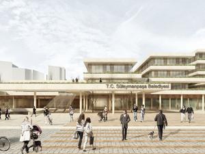 2. Mansiyon, Süleymanpaşa Belediye Hizmet Binası Mimari Proje Yarışması