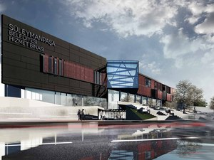 Katılımcı (BİMAT Mimarlık), Süleymanpaşa Belediye Hizmet Binası Mimari Proje Yarışması