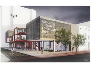 Eşdeğer Mansiyon, Adelaide Creative Community Hub Competition