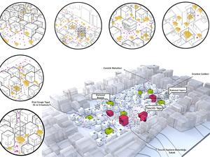 """Eşdeğer Mansiyon, """"Mahallem: Bakırköy"""" Uluslararası Katılımlı Öğrenci Mimari Fikir Projesi Yarışması"""