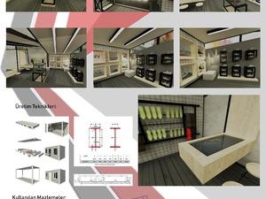 Bursa-Podyum Park'ta Nike Id Mağazası Tasarımı