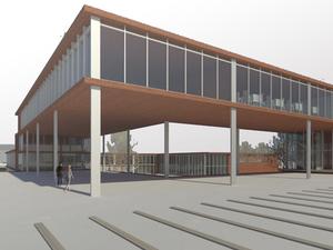 Konservatuvar Binası Diploma Projesi