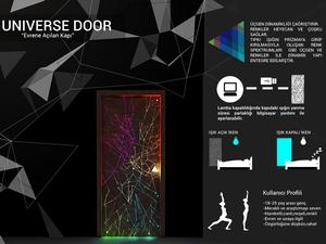 """Mansiyon Ödülü, """"Kapı Tasarlıyorum"""" 2018 Öğrenci Tasarım Yarışması"""