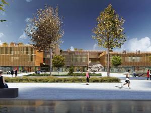 Eşdeğer Mansiyon (WE're), Çanakkale Belediyesi Çarşı, Yaşam Merkezi ve Otopark ile Yakın Çevresi Mimari Proje Yarışması