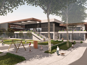 2. Ödül (CM2 Mimarlık ve Tasarım Stüdyosu), Çanakkale Belediyesi Çarşı, Yaşam Merkezi ve Otopark ile Yakın Çevresi Ulusal Mimari Proje Yarışması