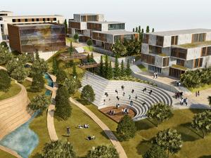 Eşdeğer İkincilik (MEES Mimarlık-Egemar Yapı), İzmir Tınaztepe Üniversitesi Kampüs Tasarımı 2 Aşamalı Davetli Proje Yarışması