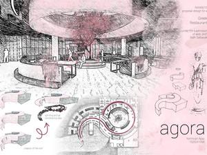 Agora - Haliç'te Restoran Tasarımı