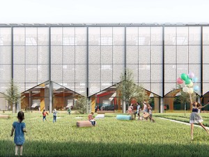 Finalist Mention, Young Architects Competitions Kid's Factory Project