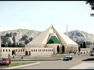 Katılımcı (2.Kategori) (Gökhan Tudan Mimarlık), Cami Tasarımı Fikir Yarışması