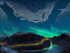 Katılımcı, Viewpoint of the Fjords (VOF), Norway