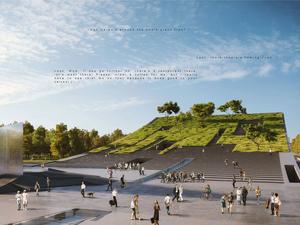 Liget Etnografya Müzesi Yarışması'nı Dev Kaykay Çatı Tasarımıyla Napur Architect Kazandı