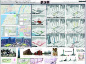 Harmoni - Manhattan'da Karma Programlı Çok Katlı Yapı Tasarımı
