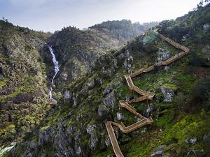 """Portekiz'in Doğa ile Temas İçindeki """"Paiva Yolu"""""""