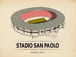 Dünyanın Dört Bir Yanından Stadyum İllüstrasyonları