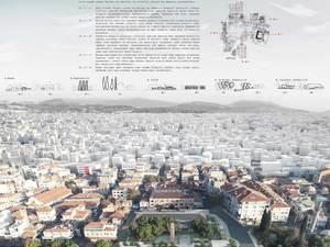 1. Mansiyon (KAAT), Akhisar Eski Belediye Meydanı ve Yakın Çevresi Ulusal Mimarlık ve Kentsel Tasarım Fikir Yarışması