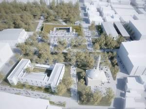 2. Ödül, Akhisar Eski Belediye Meydanı ve Yakın Çevresi Ulusal Mimarlık ve Kentsel Tasarım Fikir Yarışması