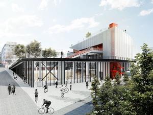 Eşdeğer Mansiyon (SO?), Caferağa Spor ve Kültür Merkezi Mimari Proje Yarışması