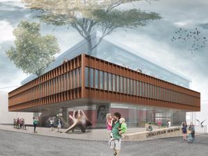 Katılımcı (CM Mimarlık), Caferağa Spor ve Kültür Merkezi Mimari Proje Yarışması
