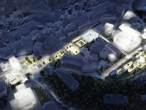 3. Ödül, Çekirge Meydanı Mimari, Kentsel Tasarım ve Peyzaj Tasarımı Yarışması