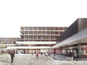 Eşdeğer Mansiyon (46983), İzmir Büyükşehir Belediyesi Ulaşım Entegrasyon Merkezi Yarışması