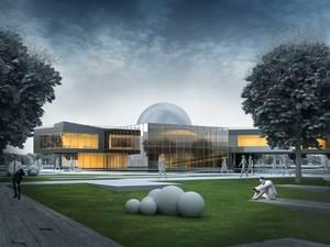Katılımcı (Osman Burak Yılmaz), Kırşehir Gezegenevi ve Kültürparkı Mimari Proje Yarışması