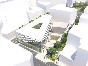 3. Ödül, Merzifon Belediyesi İş ve Yaşam Merkezi Mimari Proje Yarışması