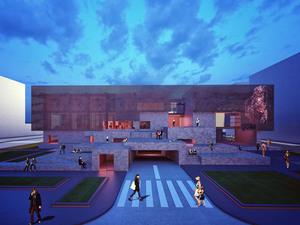3. Ödül, Şehitkamil Belediyesi Sanat Merkezi Yarışması