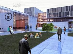 2. Ödül, Süleymanpaşa Belediye Hizmet Binası Mimari Proje Yarışması