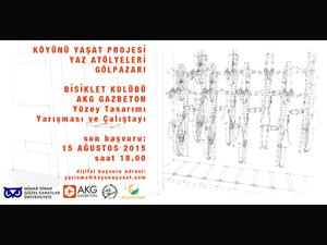 MSGSÜ Köyünü Yaşat Projesi AKG Gaz Beton Yüzey Tasarımı Yarışması ve Çalıştayı