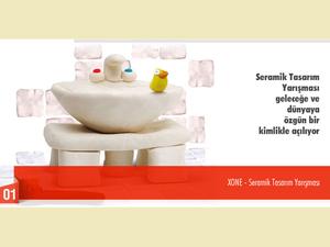 XONE Seramik Tasarım Yarışması